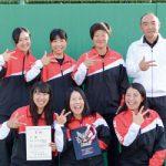 きのくに信金ソフトテニス部 中学・高校出向き教えます