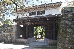 ふるさと和歌山城ワンポイント ①岡口門〜万一に備えた城門造り