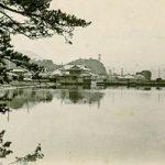 紀州百景81〜御手洗池から望むエレベーター(明治末)