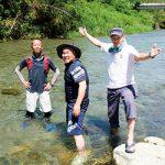 楽しい川遊び 案内します