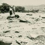 紀州百景91〜天守閣の焼け跡(戦後)