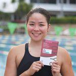東京五輪 水泳で自己新〜和歌山ゆかりのゴメス峰里選手
