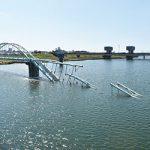六十谷水管橋が崩落〜断水の影響 約6万戸に